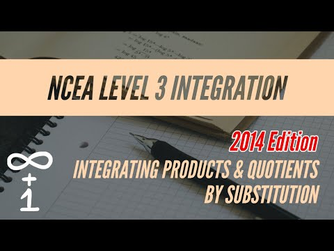 Integrating Products & Quotients by Substitution