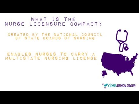 Nurse Licensure Compact: Multistate Nursing Licenses