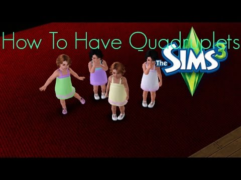 Sims 3 How To Have Quadruplets