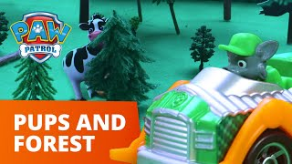 PAW Patrol Pups Investigate the HAUNTED Forest! - Toy Episode - PAW Patrol Official & Friends