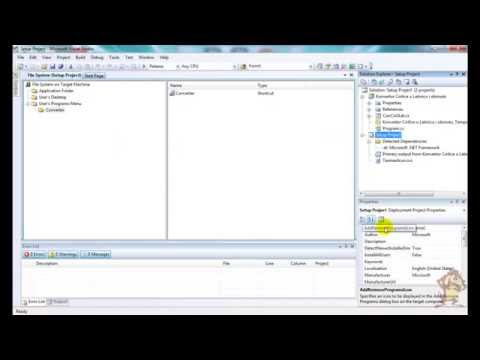 C# setup exe - How to create Setup Project in Visual Studio