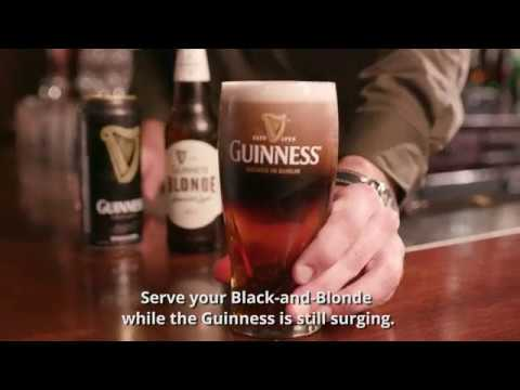 How to Make a Guinness Black and Blonde