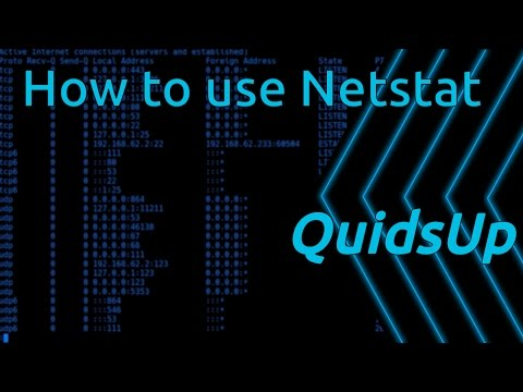 How to use Netstat in Linux