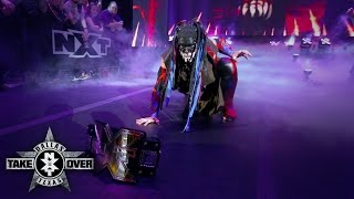The Demon carries out another extraordinary entrance: NXT TakeOver: Dallas on WWE Network