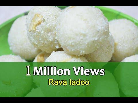 Rava ladoo recipe | ரவா லட்டு  |How to make rava laddu recipe | Sooji ladoo | Diwali Special