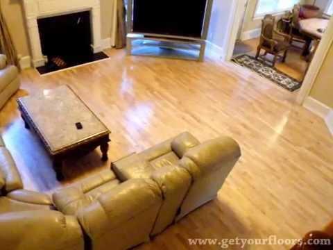 Hardwood floor sanding and refinishing projects in Atlanta, GA