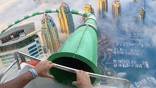 Top 5 Most Insane Custom Waterslides YOU WONT BELIEVE EXIST!