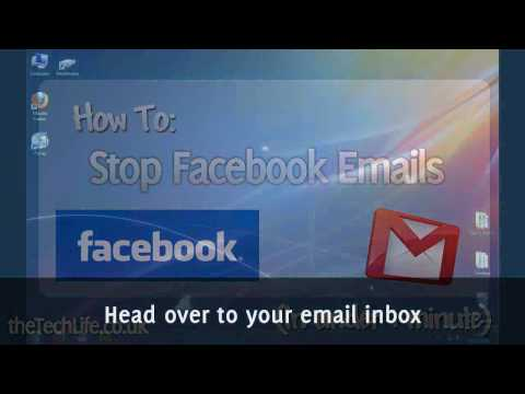 How to Stop Facebook Email Notifications (in 1 min)
