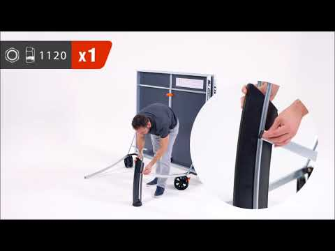 Cornilleau 540M Crossover Table Tennis Table Assembly Video
