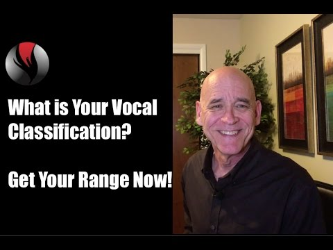 What Is My Vocal Classification? Get Your Range Now!  Are you a Soprano,  Alto, Tenor, or Bass?