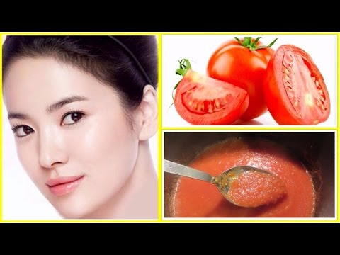 HOW TO DO FACIAL AT HOME WITH TOMATO || 4 EASY STEPS OF TOMATO FACIAL FOR FAIR,GLOWING,SPOTLESS SKIN