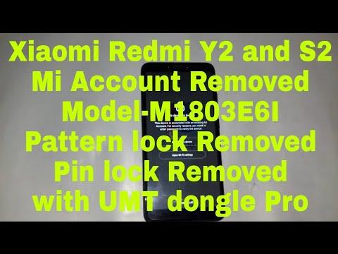 How to Remove Mi Account Xiaomi Redmi Y2 Model-M1803E6I and
