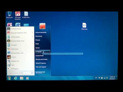 Windows 7 - How to burn ISO disc image files