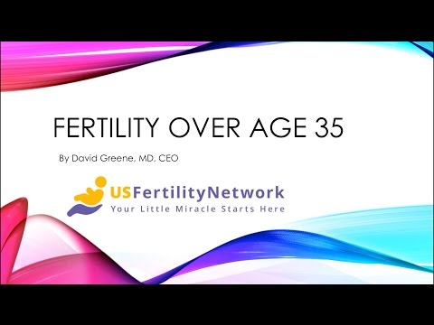 Basics on Fertility Over the Age of 35 from US Fertility Network