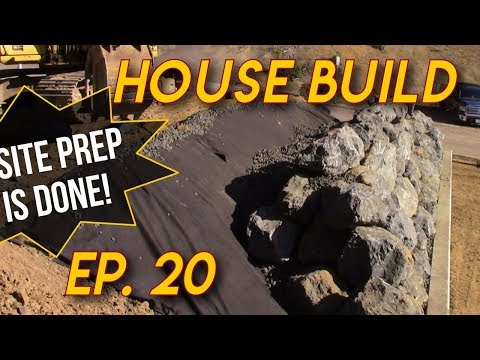 How To Stack A Boulder Wall: Ep 20