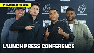 Jaime Munguia vs. Patrick Allotey // Ryan Garcia vs. Avery Sparrow Announcement Press Conference