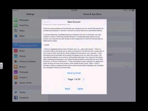 How to Create an Apple ID Using an iPad