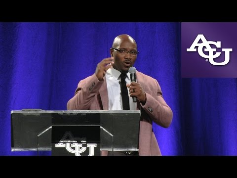 ACU Chapel with Danieal Manning; October 16, 2015