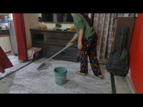 Indian mom morning home cleaning routine.speedy house cleaning routine 2018.Daily home cleaning