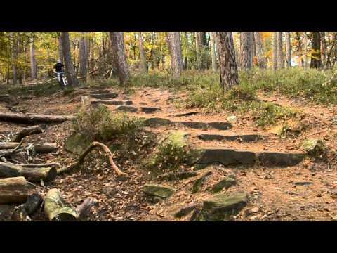 RAW Hardtail mountain biking / Trail ride