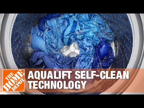 Maytag AquaLift Self-Clean Technology