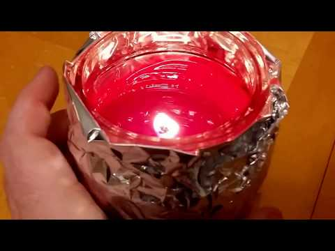 How to evenly melt a single wick candle