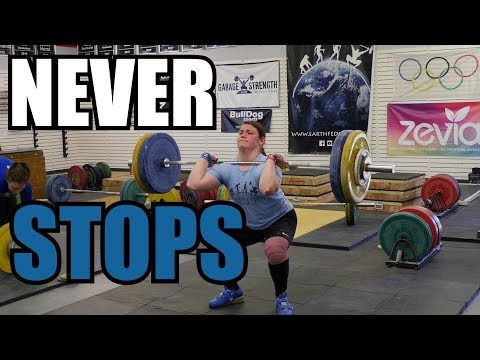 NEVER STOPS | GS WEIGHTLIFTING 02