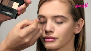 How to use Barry M's Shape & Define Brow Kit with Adam Burrell