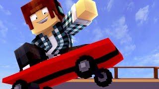 Minecraft : DESAFIO RADICAL DE SKATE !! - Aventuras Com Mods #62