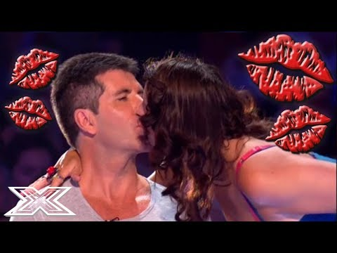 Xxx Mp4 SNOGGING SIMON COWELL Contestants And Judges KISS Simon Cowell X Factor Global 3gp Sex