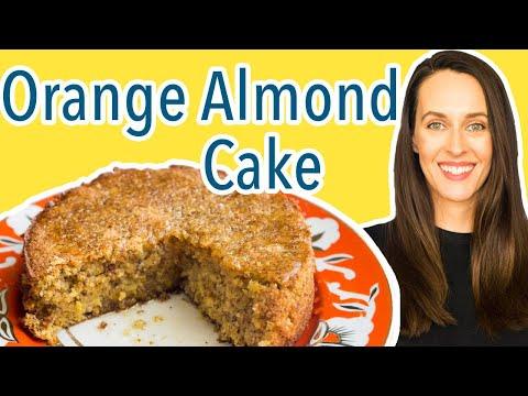 Persian Orange Almond Cake - Gluten-free Recipe Demo - How to Make Persian Orange Almond Cake