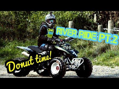 River ride Pt. 2 Big bumps!