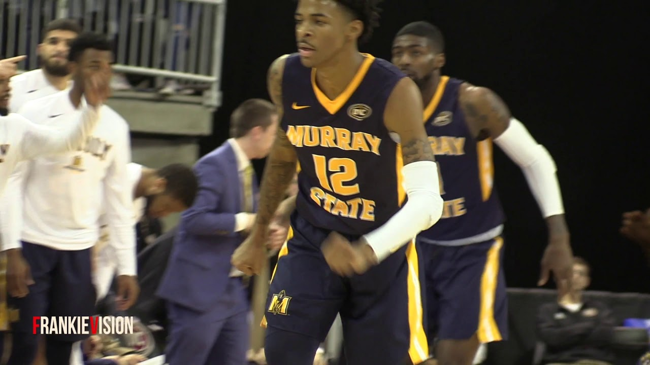 Ja Morant takes over OVC Tourney! He averaged 32.5 points, 6.5 rebounds, 5.5 assists!