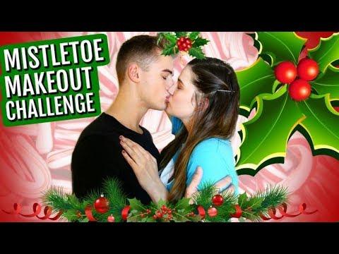 Mistletoe Makeout Challenge!