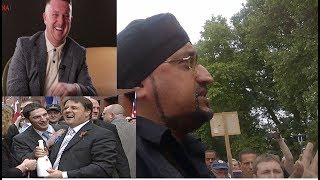 "Sikh-Muslim ""Rivalry"" In Britain Aiding Tommy Robinson, BNP and Generation Identity"