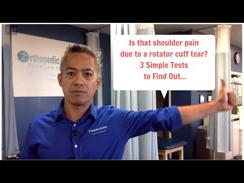 3 Ways To Test For A Rotator Cuff Tear
