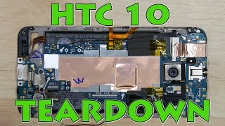 HTC 10 Screen Replacement Teardown Disassembly (4k)