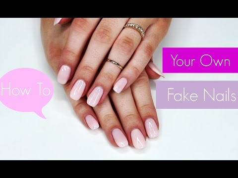 How To Do Your Own Fake Nails | Cosmobyhaley