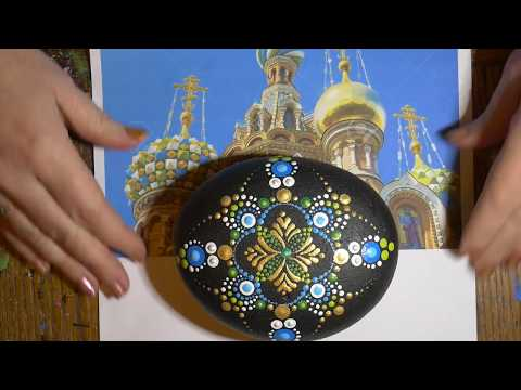 How to paint dot mandalas with Kristin Uhrig #35- Russian Orthodox mandala