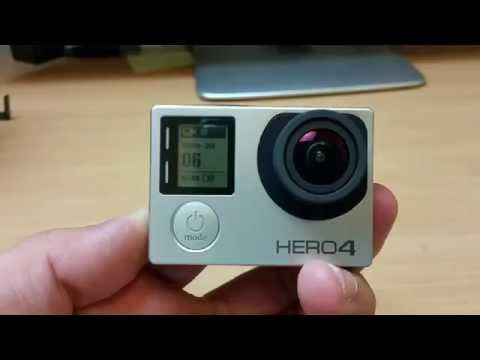 Gopro HERO4 WiFi Setup and how to pair HERO4 with Gopro Android App