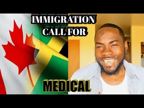 CANADIAN IMMIGRATION Call for Medical ( PR ) Moment all jamaican Trucker's are waiting On. vlog #25.