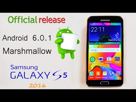 *new* Official Android 6.0.1 update Samsung Galaxy S5