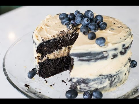 KETO DARK CHOCOLATE CAKE & PEANUT BUTTER ICING - PLS SEE PINNED COMMENT FOR CORRECTION