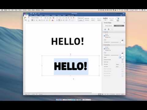 How To Make Text Thicker in Microsoft Word