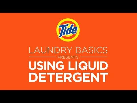 Tide Liquid   Laundry Tips: How to Use Liquid Detergent