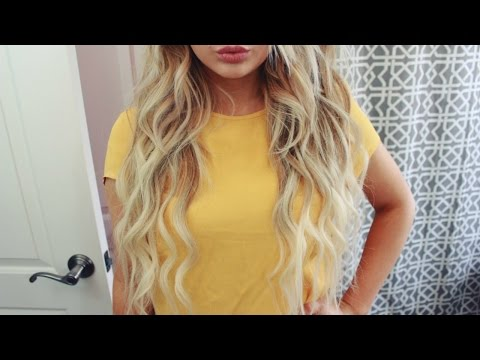 How To: The Perfect Beachy Waves   Bellami Extensions