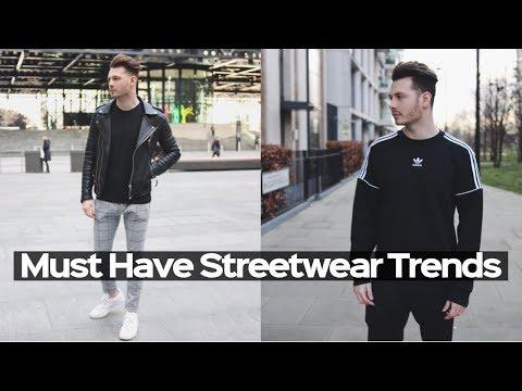 Mens Streetwear Haul : Essentials For Winter/Summer 2018