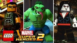 LEGO Marvel Superheroes 2 NEW CHARACTER CUSTOMIZER GAMEPLAY
