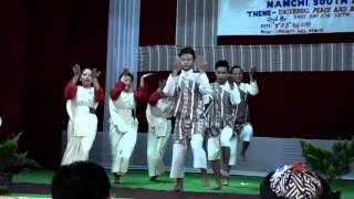 LEPCHA DANCE BY NAMCHI COLLEGE STUDENTS.