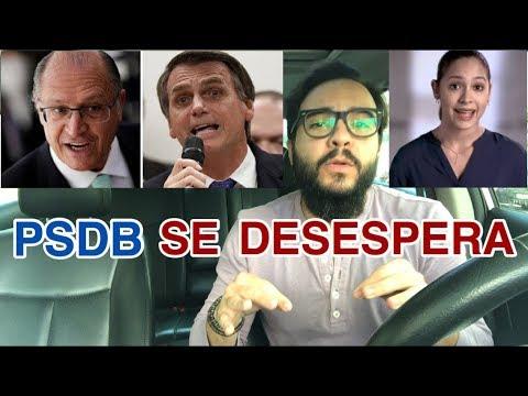 ALCKMIN x BOLSONARO! Desesperado, PSDB lança campanha anti Bolsonaro!
